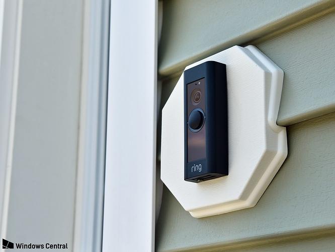 Ring Doorbell Flush Mount For Siding Inventables Community Forum